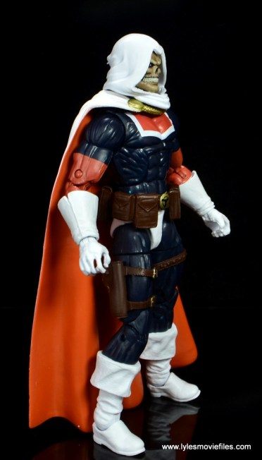 marvel legends taskmaster figure review - right side