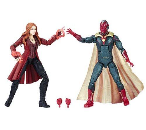 marvel legends vison and scarlet witch