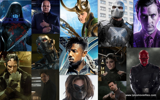 ranking the marvel studios villains
