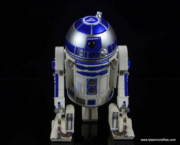 sh figuarts r2d2 figure review - arm attachments