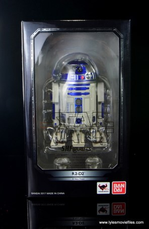 sh figuarts r2d2 figure review - package front