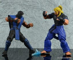 storm collectibles mortal kombat sub-zero figure review - ice slide to ken