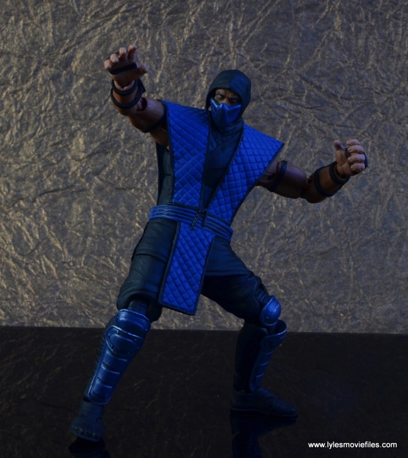 storm collectibles mortal kombat sub-zero figure review - icy battle ready