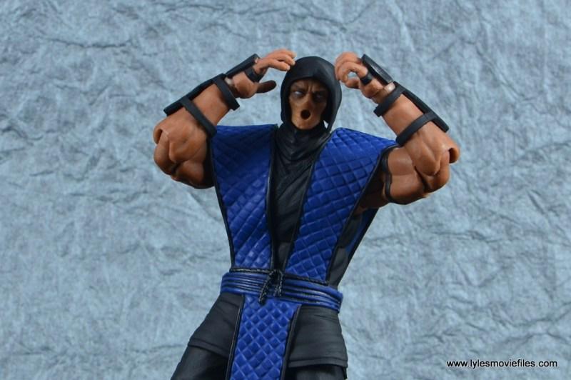 storm collectibles mortal kombat sub-zero figure review - no mask
