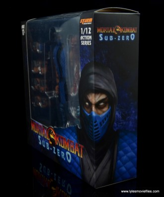 storm collectibles mortal kombat sub-zero figure review - package front side