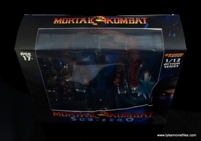 storm collectibles mortal kombat sub-zero figure review - package top