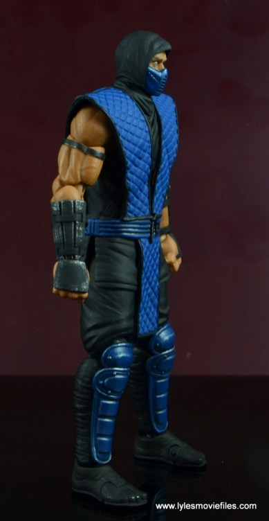 storm collectibles mortal kombat sub-zero figure review - right side