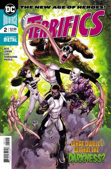 the terrifics #2 cover