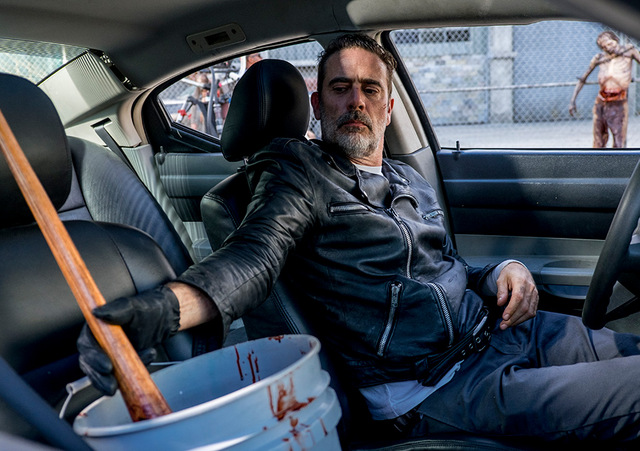 the walking dead the key review - negan and lucille