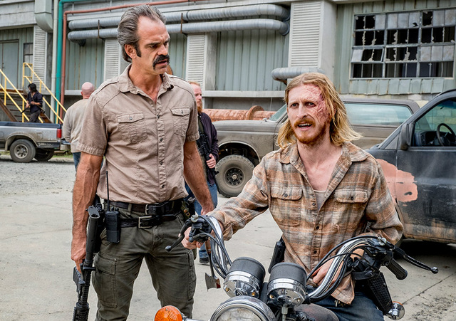 the walking dead the key review - simon and dwight