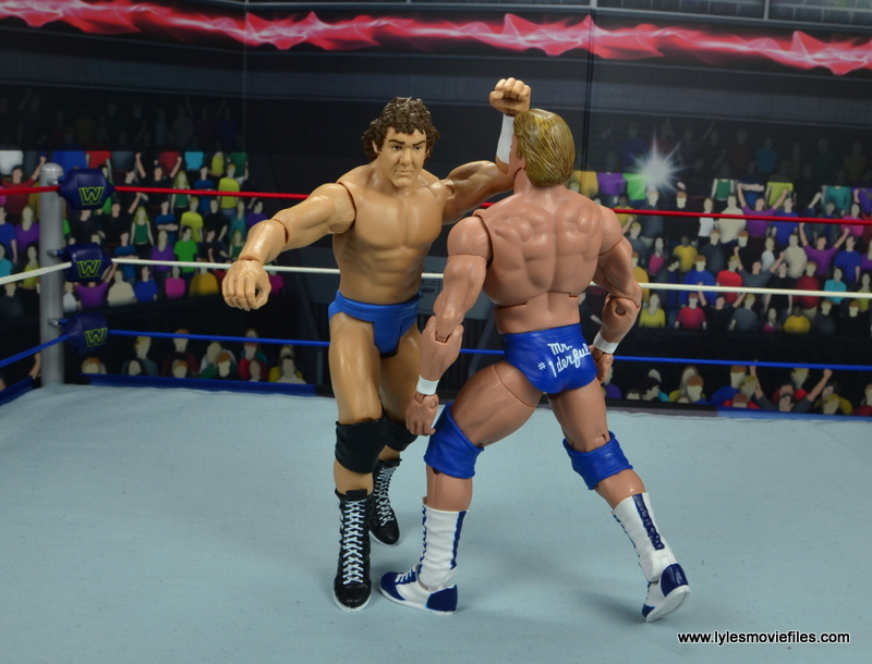 wwe basic cowboy bob orton figure review - forearm strike