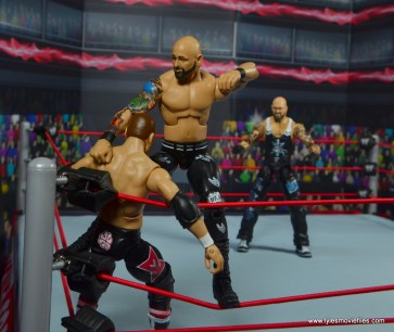 wwe elite 56 karl anderson and luke gallows figure review -anderson in the corner