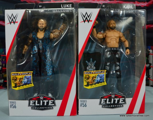 wwe elite 56 karl anderson and luke gallows figure review - package front