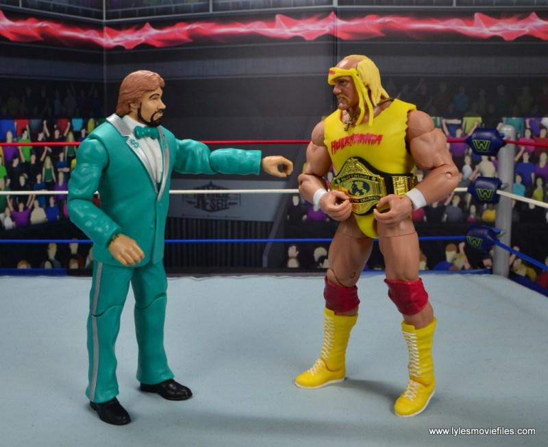 wwe million dollar man figure review -reaching for hulk hogan's world title
