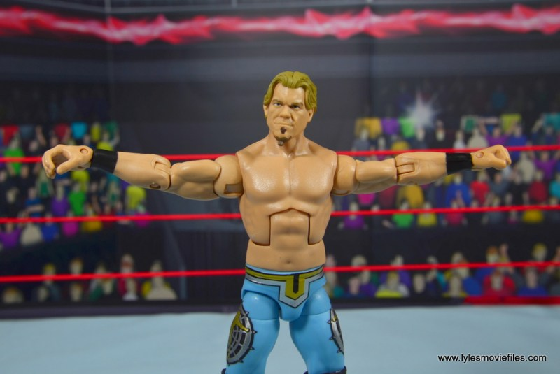 wwe ringside collectibles chris jericho figure review -arms out