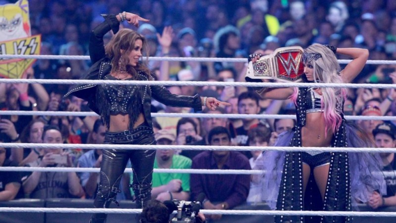5 Most Wanted WrestleMania Weekend figure mickie james and alexa bliss