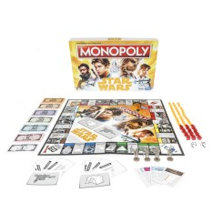 STAR WARS MONOPOLY HAN SOLO EDITION GAME