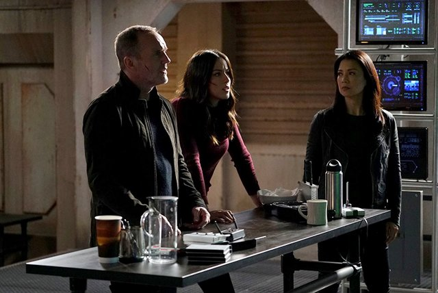 agents of shield the real deal review - coulson, daisy and may
