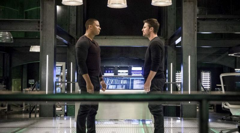 arrow brothers in arms -diggle and oliver face off