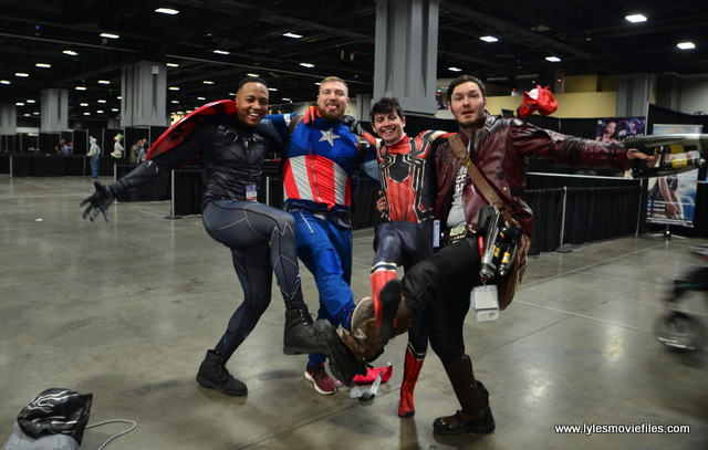 awesome con 2018 cosplay -avengers infinity war quartet