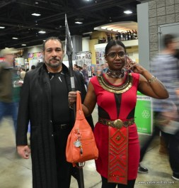 awesome con 2018 cosplay -black panther and dora milaje