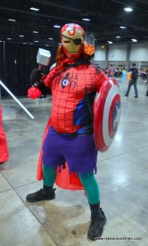 awesome con 2018 cosplay -every avenger