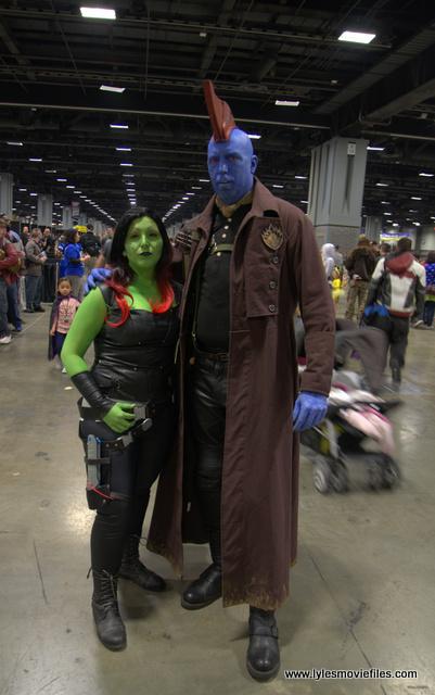 awesome con 2018 cosplay -gamora and yondu 2