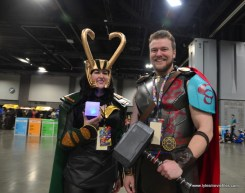 awesome con 2018 cosplay -loki and thor ragnarok
