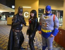 awesome con 2018 cosplay -nolan batman, baroness, classic batman