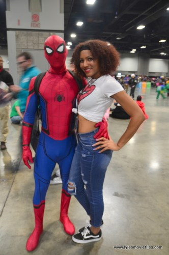 awesome con 2018 cosplay -spider man and mary jane