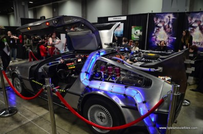 awesome con 2018 -ready player one delorean