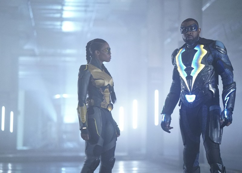 black lightning sins of the father the book of redemption review - thunder and black lightning