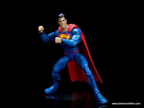 dc multiverse superman rebirth figure review - battle ready