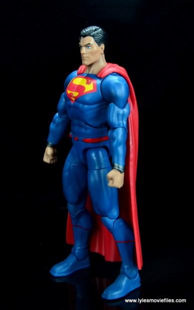 dc multiverse superman rebirth figure review - left side