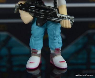 funko pop aliens ripley figure review -shoe detail