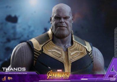 hot toys avengers infinity war thanos figure - head wide