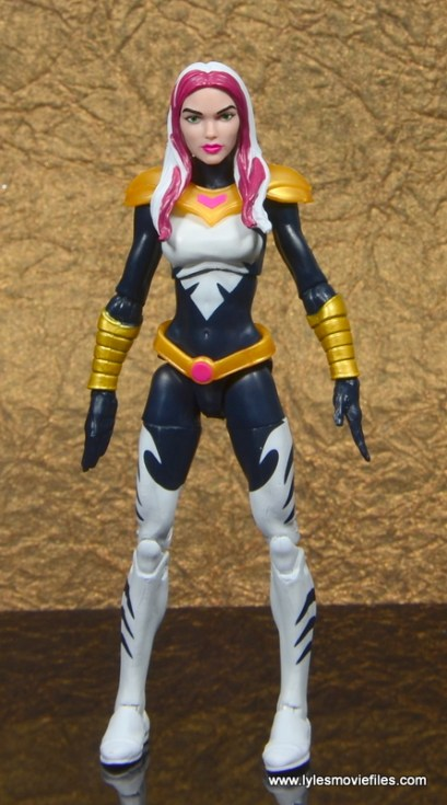 marvel legends songbird figure review - front