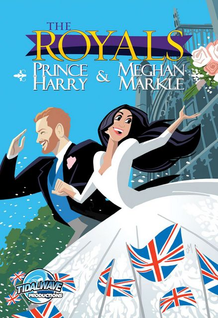 the royals prince harry and meghan markle wedding cover