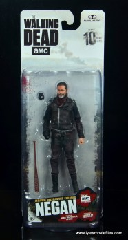 the walking dead negan figure review - package front