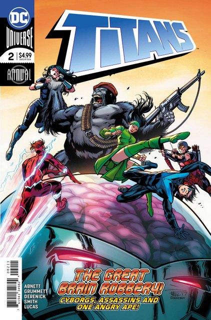 titans annual 2 cover