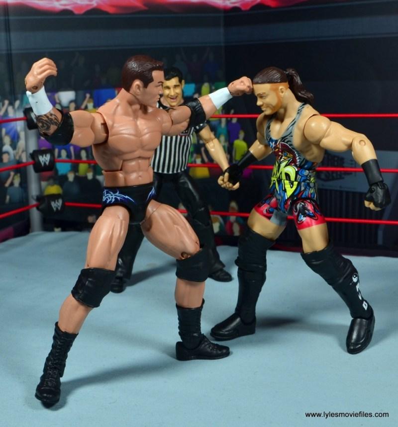 wwe elite 49 randy orton figure review - punching rvd