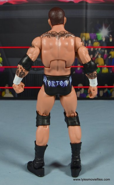wwe elite 49 randy orton figure review - rear