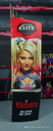 wwe elite 53 alexa bliss figure review - package side