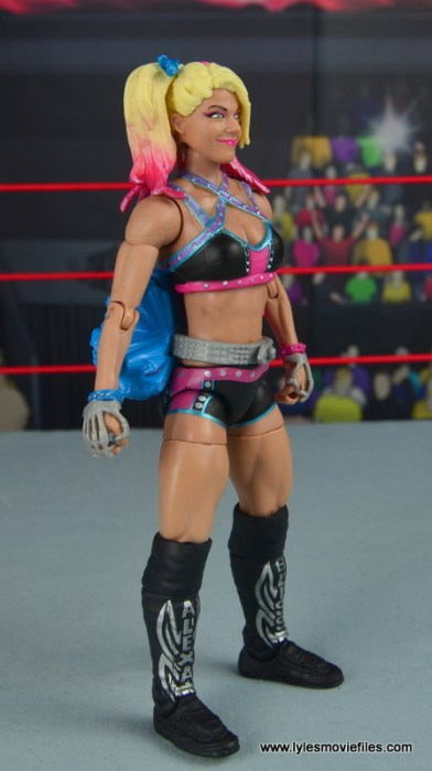 wwe elite 53 alexa bliss figure review - right side