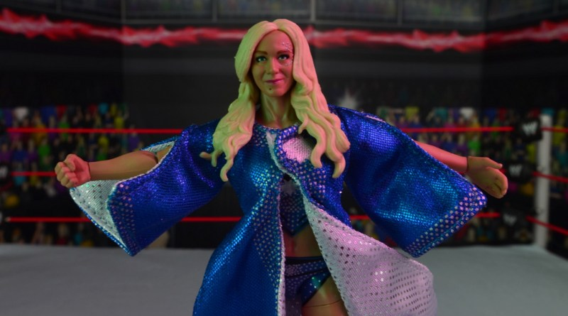 wwe elite 54 charlotte flair figure review - main pic