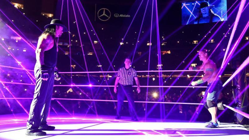 wwe wrestlemania best worst moments undertaker vs john cena