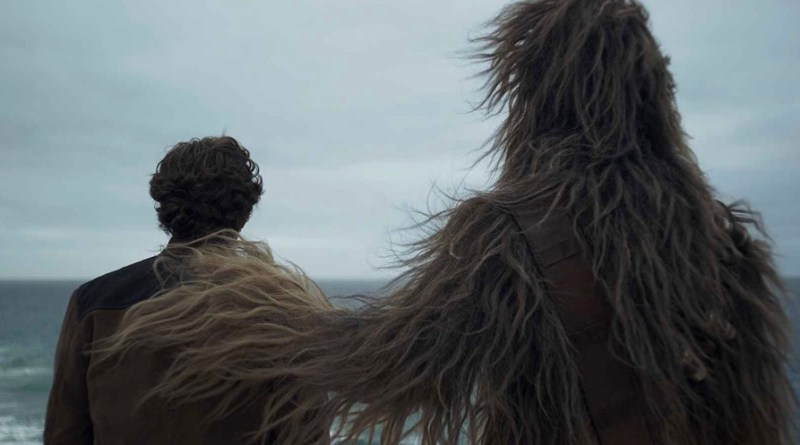 Solo A Star Wars Story - Han Solo and Chewbacca
