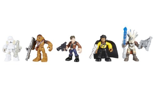 PLAYSKOOL HEROES STAR WARS GALACTIC HEROES SOLO A STAR WARS STORY SMUGGLERS AND SCOUNDRELS PACK - Group Shot (oop)