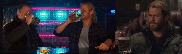 thor drinking