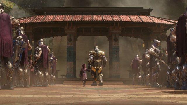 avengers infinity war chitauri
